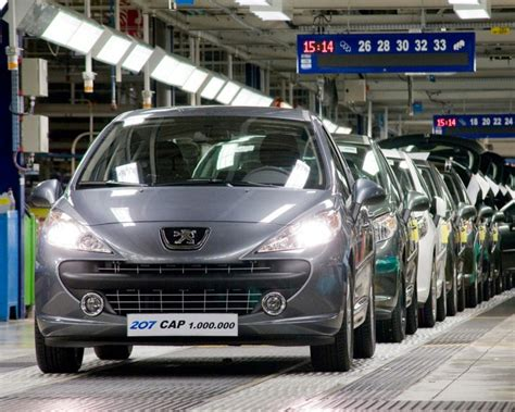 peugeot one peugeot builds one million 207s gallery top speed