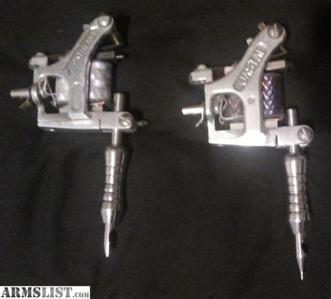 tattoo machine liner and shader for sale armslist for sale tattoo machines 1 liner 1 shader 1