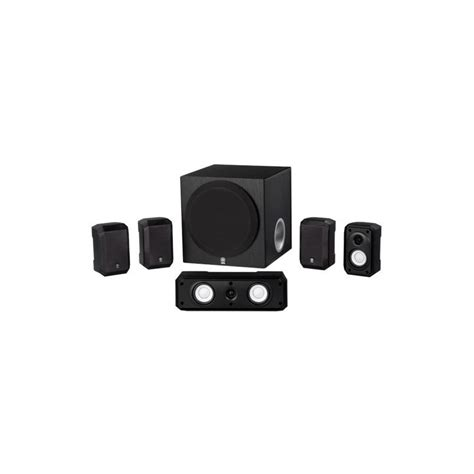 yamaha ns sp1800bl 5 1 channel home theater speaker