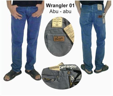Celana Jumbo Size 39 44 Biru Tua jual celana wrangler kw terbaru berkualitas