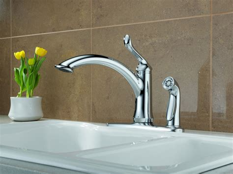 delta kitchen faucet reviews complete your kitchen with the delta kitchen faucets designwalls