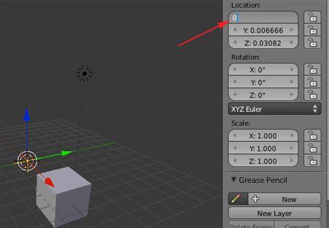 blender 3d array empty plain axes rotation by spo curriculum software