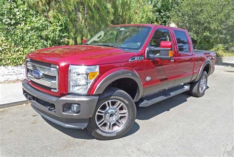 2015 ford f 350 king ranch 2015 ford f 350 king ranch crew cab 4 215 4 test drive