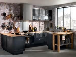Beau Conforama Meuble Salle A Manger #3: deco-cuisine-noir-bois-vintage-industriel-montmartre-conforama.jpg
