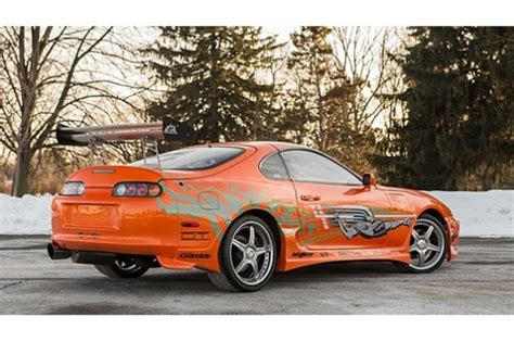 Fast And Furious Supra Kit by Fast Furious Toyota Supra Sells For 185 000 At Auction