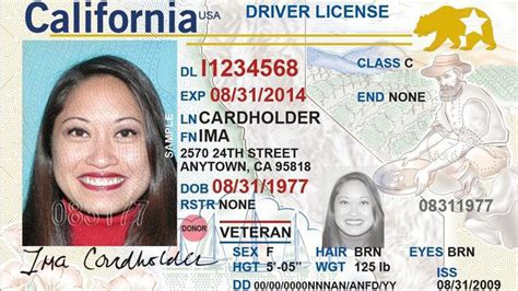 ca id card template californians can start applying for federally mandated