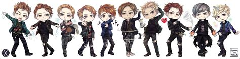 exo unfair wallpaper exochibi explore exochibi on deviantart