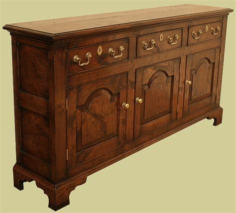 Slim Oak Sideboard oak sideboard dresser of slim depth ideal where space is at a premium 3 drawer custom made