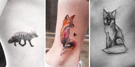 these 47 fox tattoos are the best you ll ever see