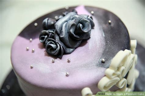 how to store a fondant cake how to store a fondant cake 9 steps with pictures wikihow