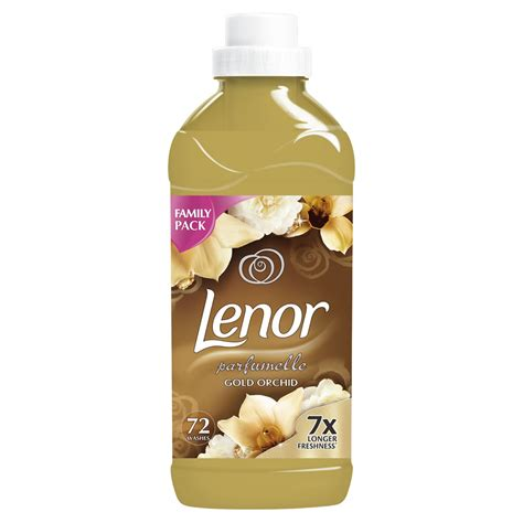 Outdoor Fabric by Lenor Gold Orchid Fabric Conditioner 1 8l At Wilko Com