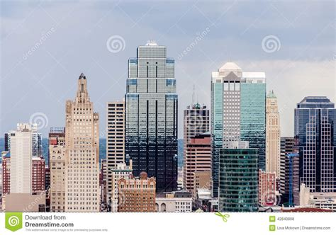 a view of downtown kansas city stock photo image 42840808