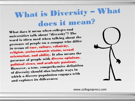 what is selves diversity in college