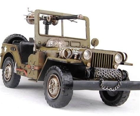 Jeep Type Kit Cars handmade antique model kit car world war two willys combat