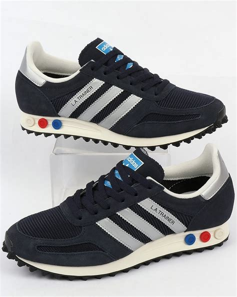 Adidas La Trainer Original 1 adidas la trainer og legend ink silver original runner shoes mens
