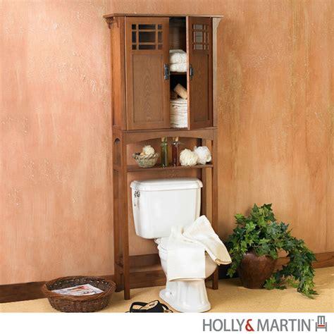 connor bath spacesaver mission oak  toilet storage bathroom cabinet martin ebay