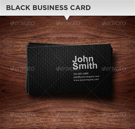 Follow Me Cards Template by Black Business Card Template Graphicriver