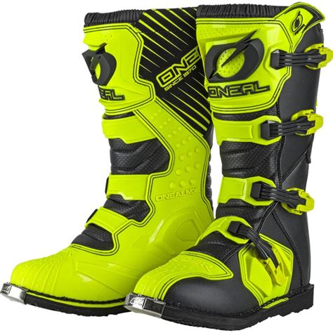 cheap motocross boots uk oneal new 2018 mx rider cheap dirt bike hi viz fluro