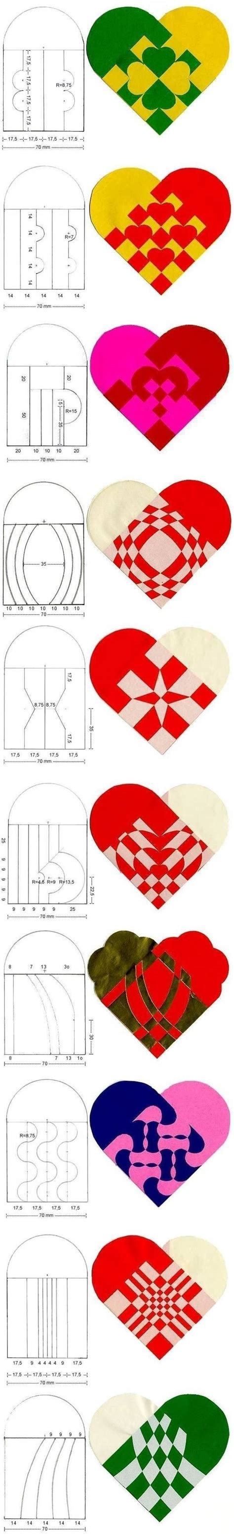 to make beautiful how to make beautiful simple heart pattern designs step by