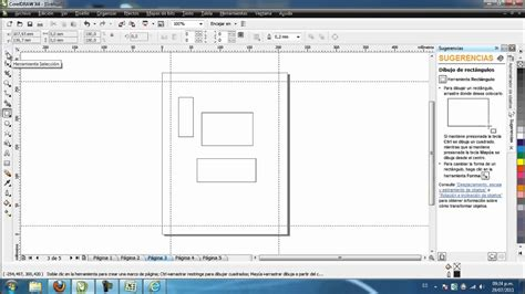 tutorial corel draw x4 tutorial no 1 objetos b 225 sicos de coreldraw x4 jucateve