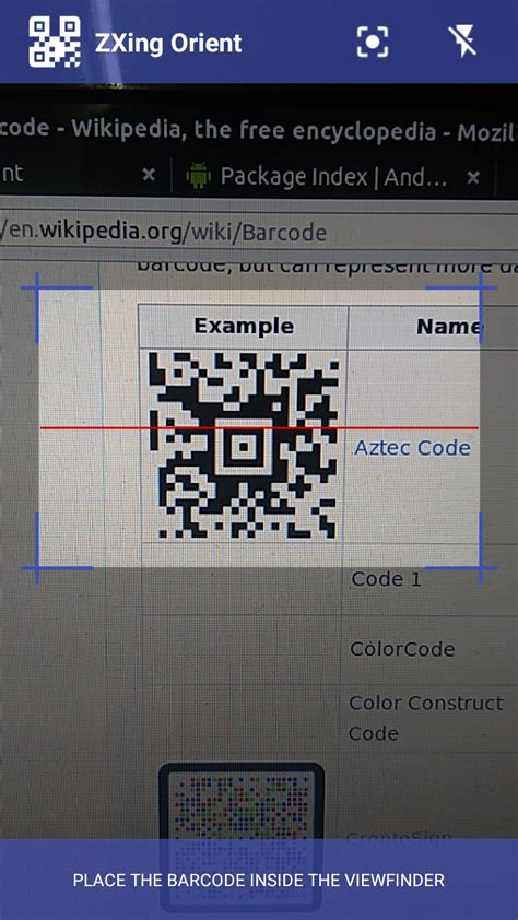 android zxing tutorial intent the android arsenal bar codes zxing orient