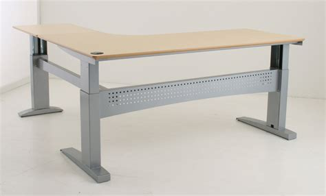 Electric Adjustable Desk Legs by 501 11 Series 3 Leg Heavy Capacity Electric Height Adjustable Base By Conset Ergocanada
