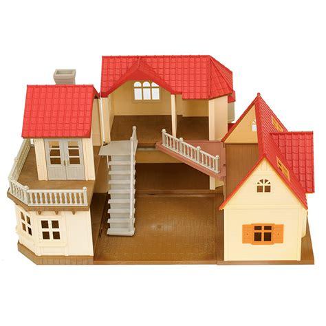 pack casa pack casa grande con muebles y familia de sylvanian