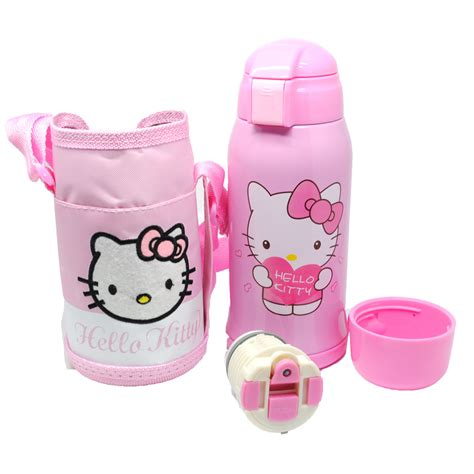 Hello Pink Stainless Thermos botol thermos doraemon hello stainless steel 600ml