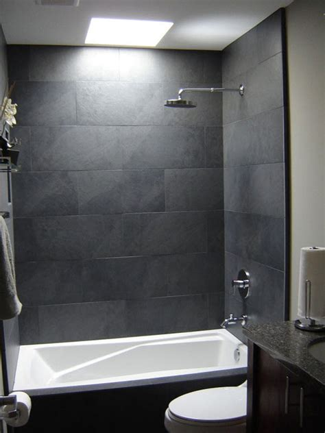 gray tile in bathroom 37 grey slate bathroom wall tiles ideas and pictures