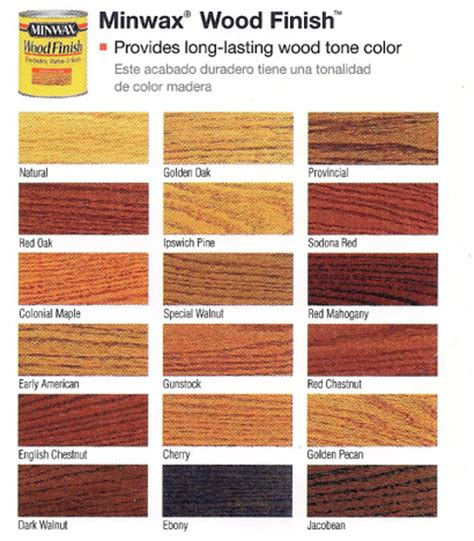 minwax color chart wood stain www pixshark images galleries with