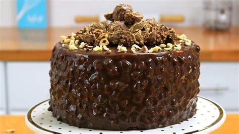 chocolate cake ferrero rocher ferrero rocher cake chocolate hazelnut cake it s