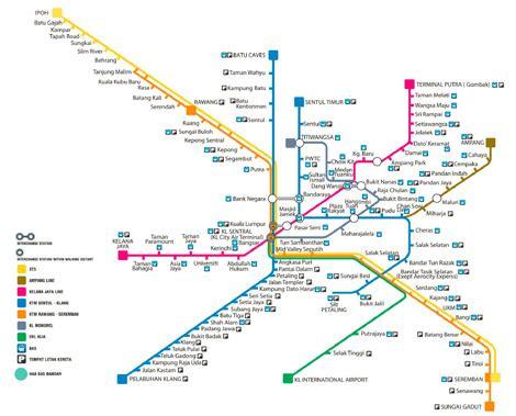 Ktm Route Map Kl Ktm Map