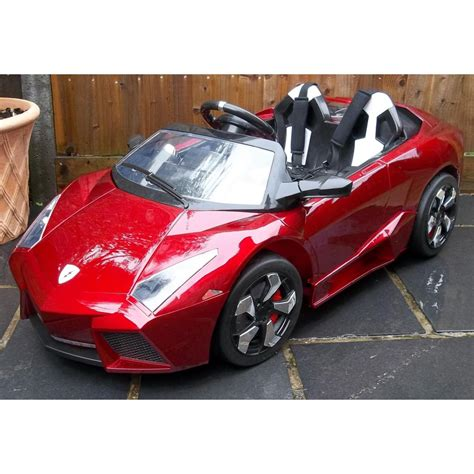 kid car lamborghini kids lamborghini ride on car red