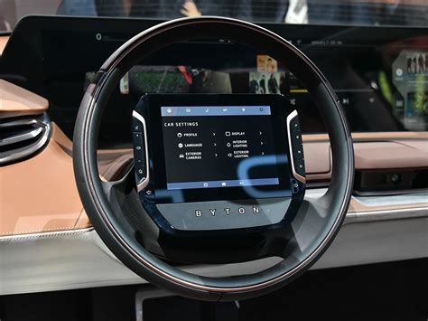 byton concept electric suv launched  ces las vegas carnewschinacom