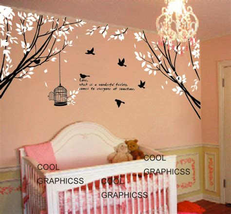 Nursery Wall Decals Quotes Branch Wall Decal Nursery Wall Decal Bedroom Decal Children