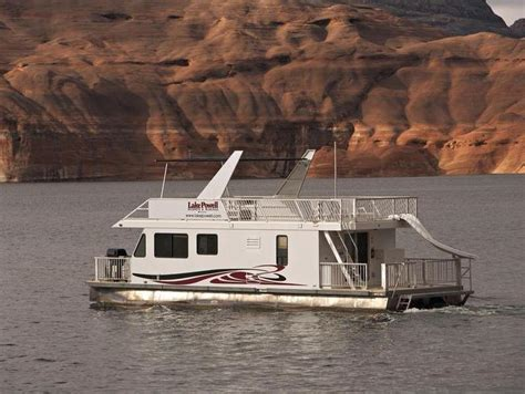 Lake Powell Cabin Rentals by 46 Foot Expedition Class Houseboat