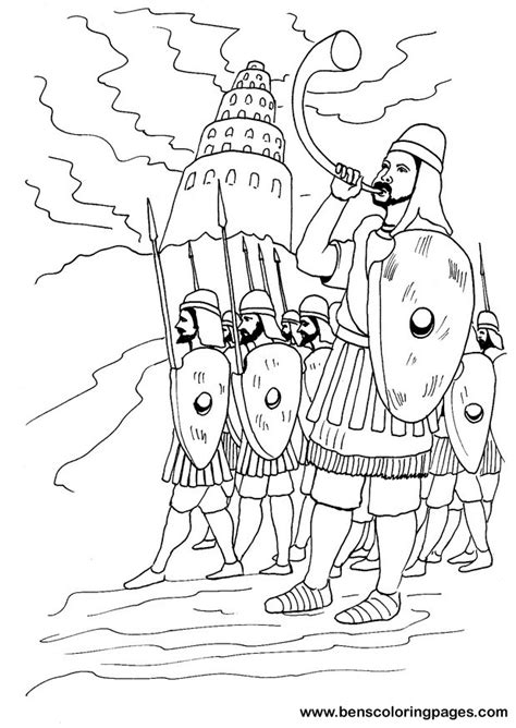 tower of babel coloring pages az coloring pages