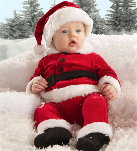 baby santa pictures