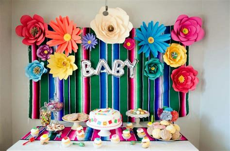 Themed Baby Shower Decorations by Mexican Baby Shower Theme Decor Mexican Baby Shower In