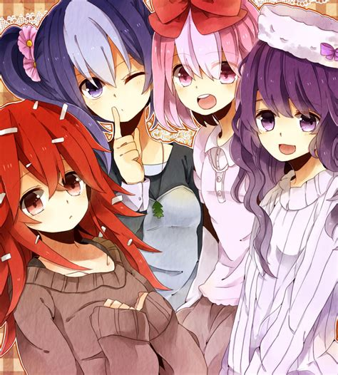 Anime 3 Friends by Happy Tree Friends Anime By Battagua On Deviantart