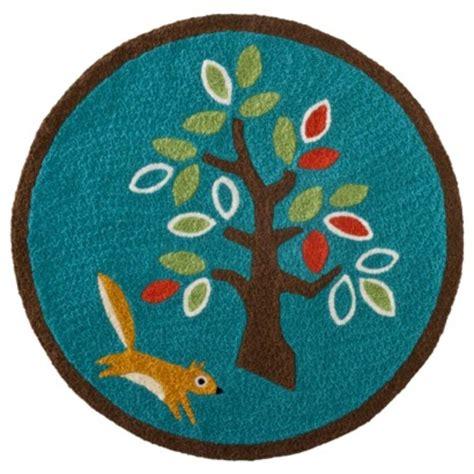 baby blue rugs for nursery zutano new into the forest blue baby decor hook nursery rug 30 inch bhfo ebay