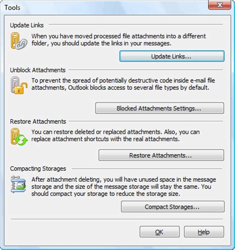 Office 365 Outlook Blocking Attachments Attachments Processor For Outlook Extract Pack Or