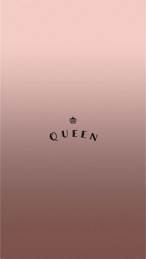 wallpaper en pinterest rose gold queen iphone wallpaper by evaland cell walls