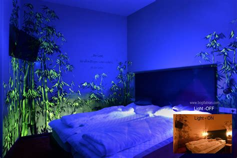 glow in the paint bedroom glowing murals turn rooms into dreamy worlds