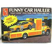 Car Hauler Ford LN 8000 Race Care Transporter T448 Plastic Model Kit