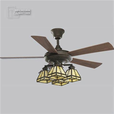 arts and crafts ceiling fan progress lighting p2509 46 52 quot arts crafts traditional