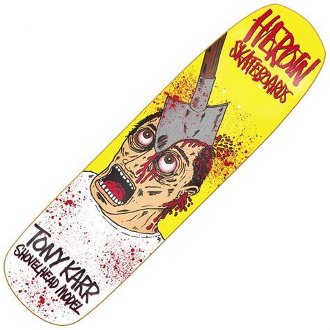 Handcrafted Skateboards - heroin skateboards karr shovelhead custom skateboard deck