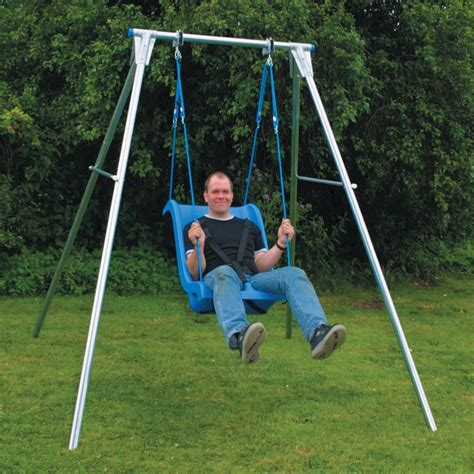 swings adult single swing frame