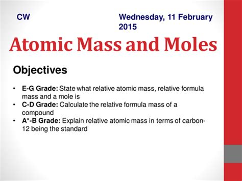 atomic mass calculations worksheet gcse atomic mass and moles calculations by catbuckle teaching resources tes