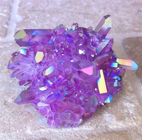 aura crystals purple aura quartz tumblr